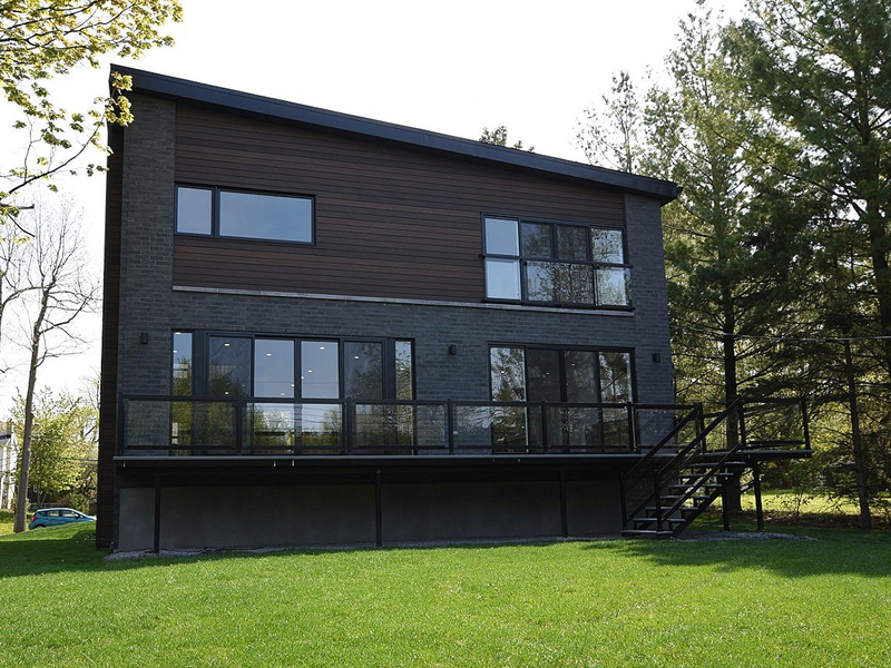 LEED GOLD CERTIFIED-WESCROFT HOUE-CONSTRUCTION VERTICALE